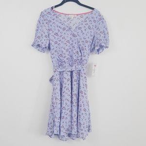 NWT Gianni bini purple floral dress